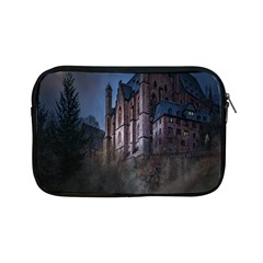 Castle Mystical Mood Moonlight Apple Ipad Mini Zipper Cases by Nexatart
