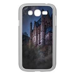 Castle Mystical Mood Moonlight Samsung Galaxy Grand Duos I9082 Case (white) by Nexatart