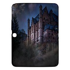 Castle Mystical Mood Moonlight Samsung Galaxy Tab 3 (10 1 ) P5200 Hardshell Case  by Nexatart