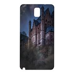 Castle Mystical Mood Moonlight Samsung Galaxy Note 3 N9005 Hardshell Back Case