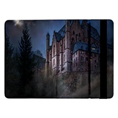Castle Mystical Mood Moonlight Samsung Galaxy Tab Pro 12 2  Flip Case