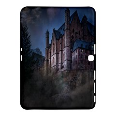 Castle Mystical Mood Moonlight Samsung Galaxy Tab 4 (10 1 ) Hardshell Case  by Nexatart