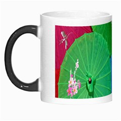 Chinese Umbrellas Screens Colorful Morph Mugs by Nexatart