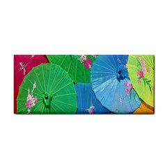 Chinese Umbrellas Screens Colorful Cosmetic Storage Cases by Nexatart
