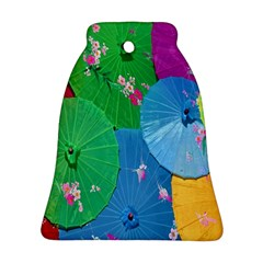 Chinese Umbrellas Screens Colorful Ornament (Bell)