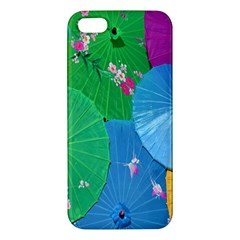 Chinese Umbrellas Screens Colorful Iphone 5s/ Se Premium Hardshell Case
