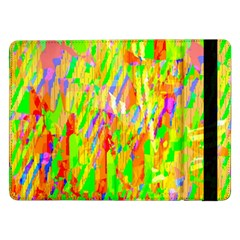 Cheerful Phantasmagoric Pattern Samsung Galaxy Tab Pro 12 2  Flip Case