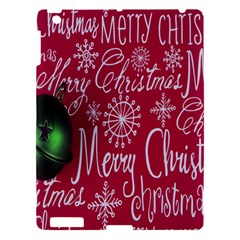 Christmas Decorations Retro Apple Ipad 3/4 Hardshell Case