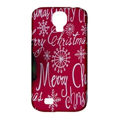 Christmas Decorations Retro Samsung Galaxy S4 Classic Hardshell Case (pc+silicone)