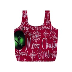 Christmas Decorations Retro Full Print Recycle Bags (s)