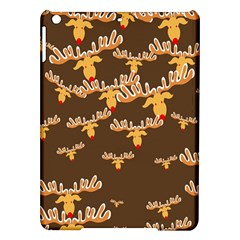Christmas Reindeer Pattern Ipad Air Hardshell Cases by Nexatart