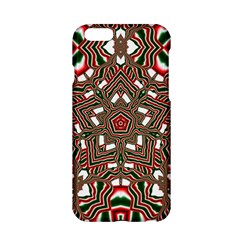 Christmas Kaleidoscope Apple Iphone 6/6s Hardshell Case by Nexatart