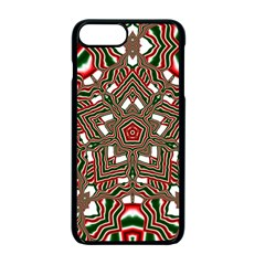 Christmas Kaleidoscope Apple iPhone 7 Plus Seamless Case (Black) by Nexatart