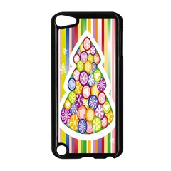 Christmas Tree Colorful Apple Ipod Touch 5 Case (black) by Nexatart
