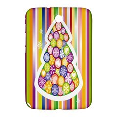 Christmas Tree Colorful Samsung Galaxy Note 8 0 N5100 Hardshell Case  by Nexatart