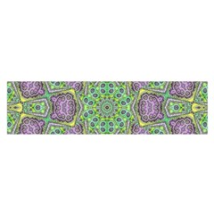 Modern Ornate Geometric Pattern Satin Scarf (oblong) by dflcprints