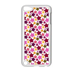 Christmas Star Pattern Apple Ipod Touch 5 Case (white) by Nexatart
