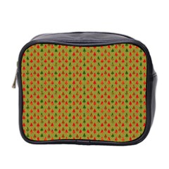 Christmas Trees Pattern Mini Toiletries Bag 2 Side
