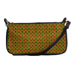 Christmas Trees Pattern Shoulder Clutch Bags by Nexatart