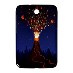 Christmas Volcano Samsung Galaxy Note 8 0 N5100 Hardshell Case  by Nexatart