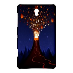 Christmas Volcano Samsung Galaxy Tab S (8 4 ) Hardshell Case  by Nexatart