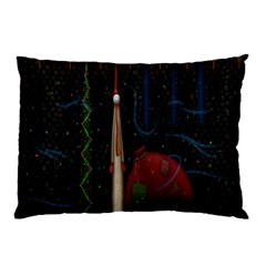 Christmas Xmas Bag Pattern Pillow Case