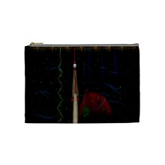 Christmas Xmas Bag Pattern Cosmetic Bag (medium)