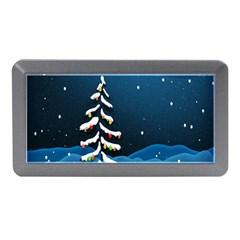 Christmas Xmas Fall Tree Memory Card Reader (mini) by Nexatart