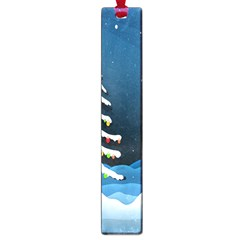 Christmas Xmas Fall Tree Large Book Marks by Nexatart