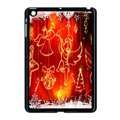 Christmas Widescreen Decoration Apple Ipad Mini Case (black) by Nexatart
