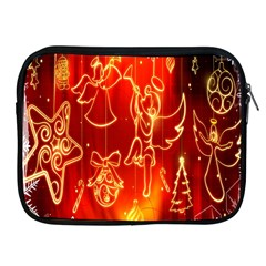 Christmas Widescreen Decoration Apple Ipad 2/3/4 Zipper Cases