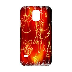 Christmas Widescreen Decoration Samsung Galaxy S5 Hardshell Case  by Nexatart