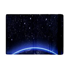 Christmas Xmas Night Pattern Ipad Mini 2 Flip Cases by Nexatart