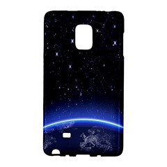 Christmas Xmas Night Pattern Galaxy Note Edge by Nexatart