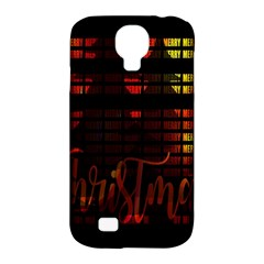 Christmas Advent Gloss Sparkle Samsung Galaxy S4 Classic Hardshell Case (pc+silicone)