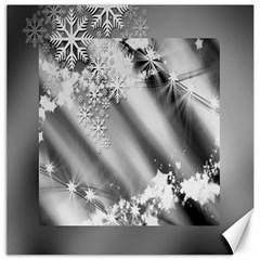 Christmas Background  Canvas 12  X 12   by Nexatart