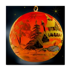 Christmas Bauble Tile Coasters by Nexatart
