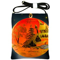 Christmas Bauble Shoulder Sling Bags by Nexatart