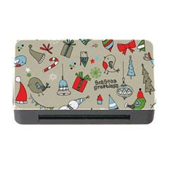 Christmas Xmas Pattern Memory Card Reader With Cf