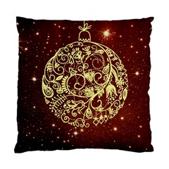 Christmas Bauble Standard Cushion Case (two Sides)