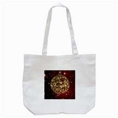 Christmas Bauble Tote Bag (white)