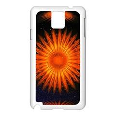 Christmas Card Ball Samsung Galaxy Note 3 N9005 Case (white)