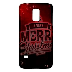 Christmas Contemplative Galaxy S5 Mini by Nexatart
