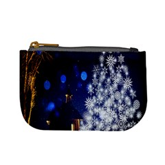 Christmas Card Christmas Atmosphere Mini Coin Purses