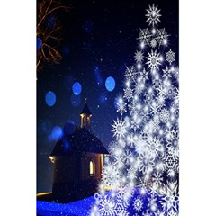 Christmas Card Christmas Atmosphere 5 5  X 8 5  Notebooks by Nexatart