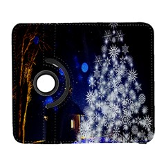 Christmas Card Christmas Atmosphere Galaxy S3 (flip/folio) by Nexatart