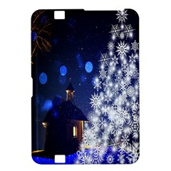 Christmas Card Christmas Atmosphere Kindle Fire HD 8.9  by Nexatart