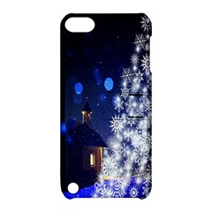 Christmas Card Christmas Atmosphere Apple Ipod Touch 5 Hardshell Case With Stand