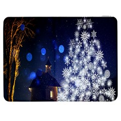 Christmas Card Christmas Atmosphere Samsung Galaxy Tab 7  P1000 Flip Case by Nexatart