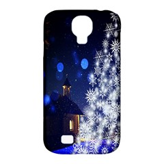 Christmas Card Christmas Atmosphere Samsung Galaxy S4 Classic Hardshell Case (pc+silicone)